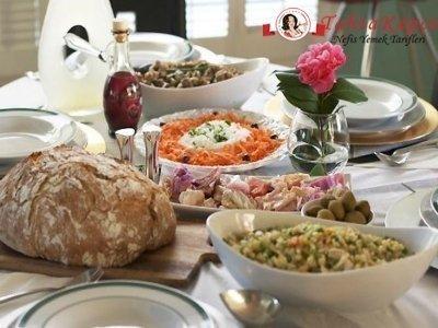 beyaz turp ve havuç salata