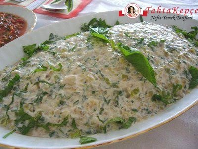 cevizli patlıcanlı salata