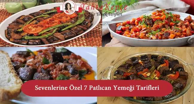 patlıcan yemeği tarifleri