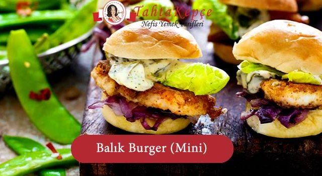 Balık Burger (Mini)