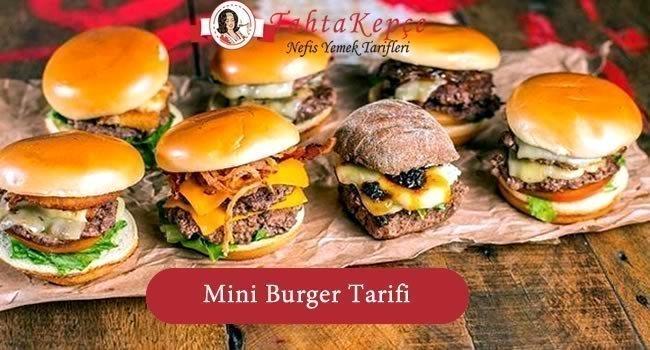 cookshop mini burger